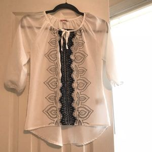 Tween dress shirt